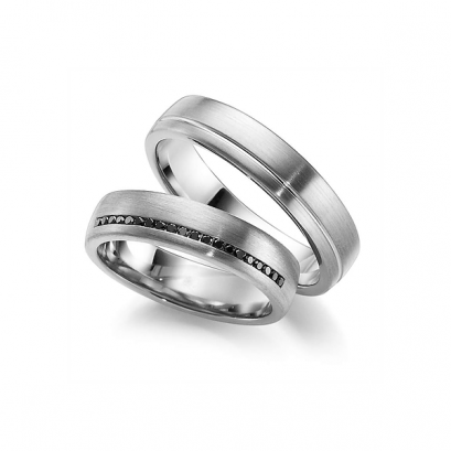 Обручальные кольца с бриллиантами, артикул 0268