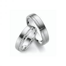 Обручальные кольца с бриллиантами, артикул 0272
