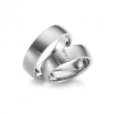 Обручальные кольца с бриллиантами, артикул 0273
