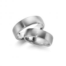 Обручальные кольца с бриллиантами, артикул 0274