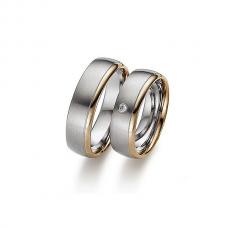Обручальные кольца с бриллиантами, артикул 0279