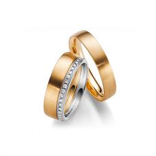 Обручальные кольца с бриллиантами, артикул 0282