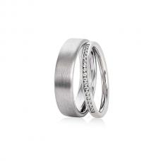 Обручальные кольца с бриллиантами, артикул 0289
