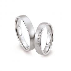 Обручальные кольца с бриллиантами, артикул 0288
