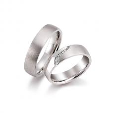 Обручальные кольца с бриллиантами, артикул 0291