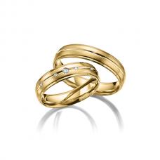 Обручальные кольца с бриллиантами, артикул 0293