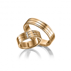 Обручальные кольца с бриллиантами Артикул 0295y