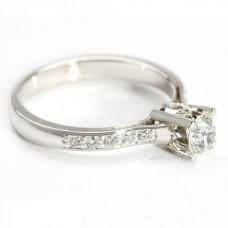 "Золотое кольцо с бриллиантами ""Сания"""
