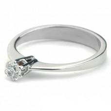"""Золотое кольцо с бриллиантом """"Милица"""""""