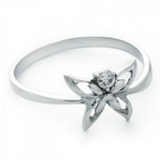 "Золотое кольцо с бриллиантом ""Флорентина"""