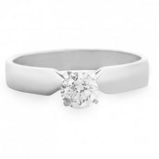 """Золотое кольцо с бриллиантом """"Надия"""""""