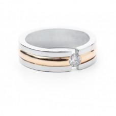 """Золотое кольцо с бриллиантом """"Эвелина"""""""