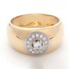 "Золотое кольцо с бриллиантами ""Юнона"""