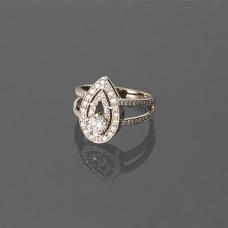 """Золотое кольцо с бриллиантами """"Мариетта"""""""