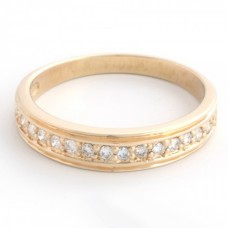 "Золотое кольцо с бриллиантами ""Жанна"""