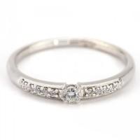 "Золотое кольцо с бриллиантами ""Тала"""