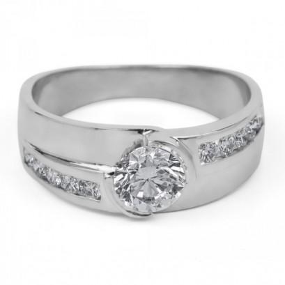 """Золотое кольцо с бриллиантами """"Тамаз"""""""