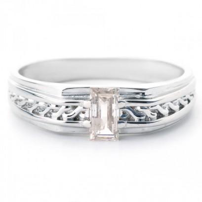 """Золотое кольцо с бриллиантом """"Таир"""""""