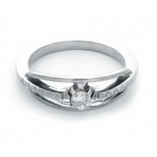 """Золотое кольцо с бриллиантом """"Харита"""""""