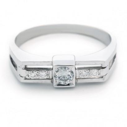 """Золотое кольцо с бриллиантами """"Олимп"""""""