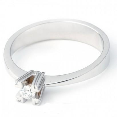 """Золотое кольцо с бриллиантом """"Римма"""""""
