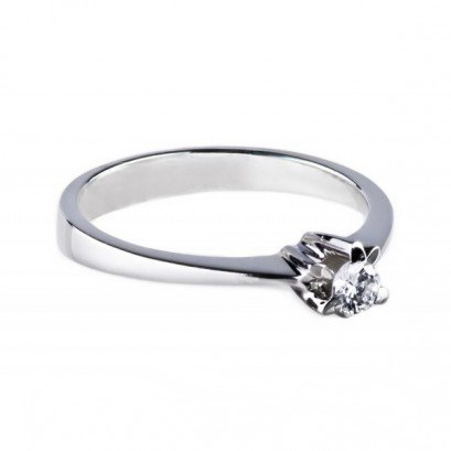 """Золотое кольцо с бриллиантом """"Ида"""""""